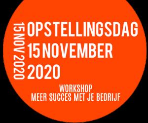 Opstellingsdag Gent workshop meer succes met je bedrijf
