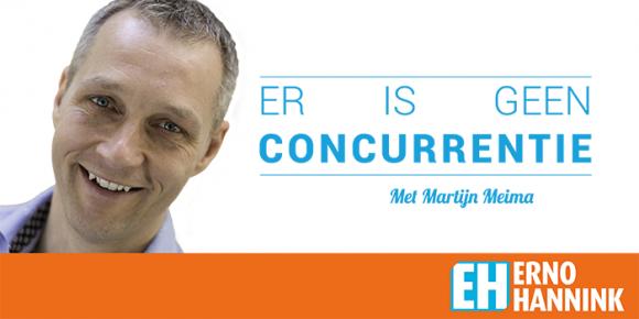 Podcast Erno Hannink - Er is geen concurrentie